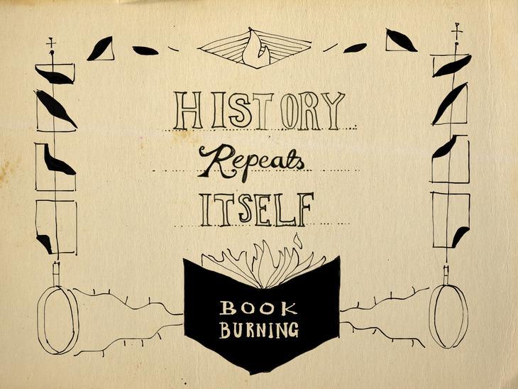 History Repeats Itself: Book Burning