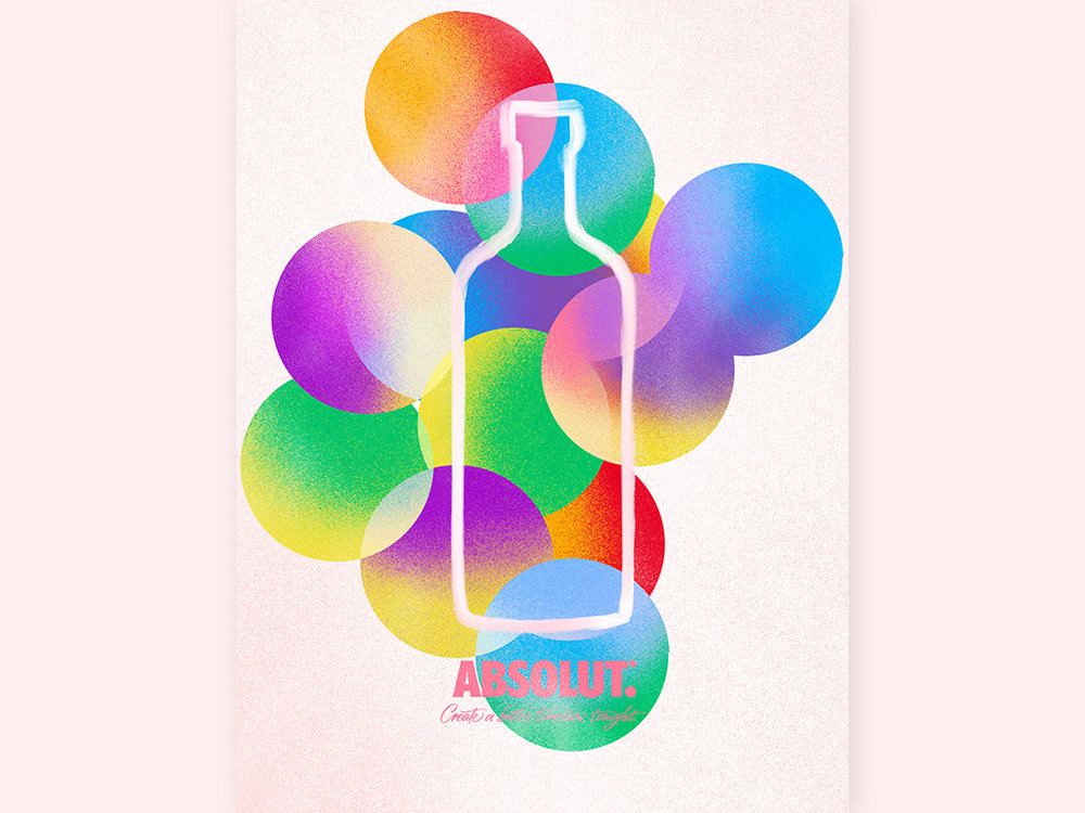 Absolut: Fluidity in Love