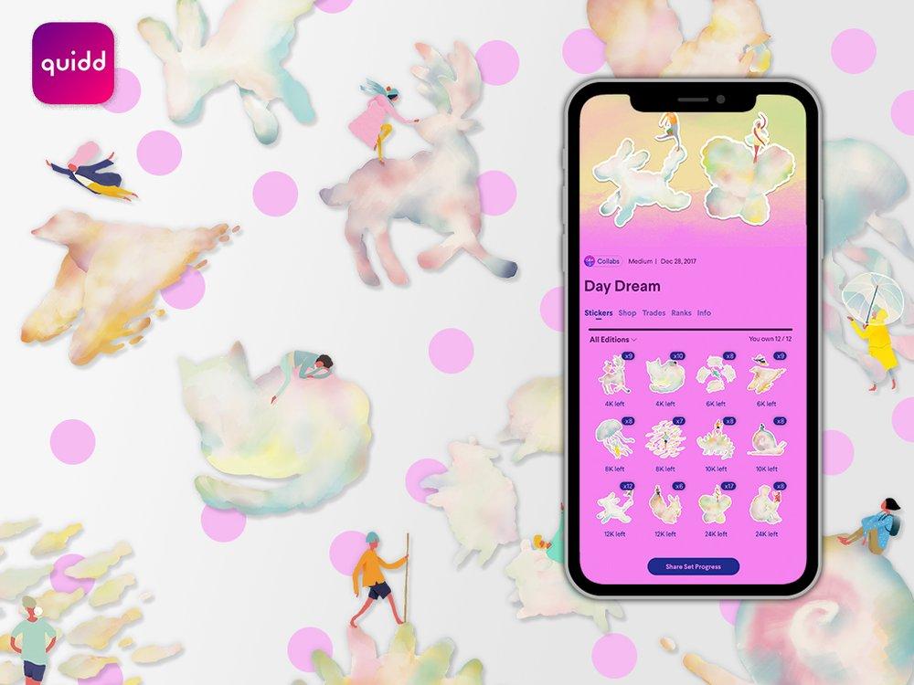 Daydream iOS Sticker Set