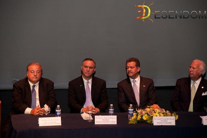 Jay Hershenson, Félix Matos, Su Excelencia y Hugo Morales
