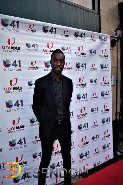 Jean Jean durante el Festival de Cine Dominicano en Nueva York. Foto: Emmanuel Espinal.