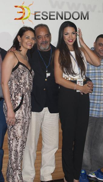 Alfonzo Rodriguez en apertura 3er Festival de cine dominicano NY del 2014