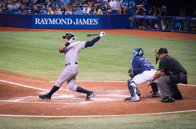 Alex Rodriguez batting.
