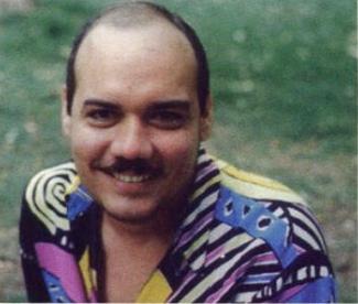 Tony Capellán en la década de los 90.  Fuente:   Revista Rumbo
