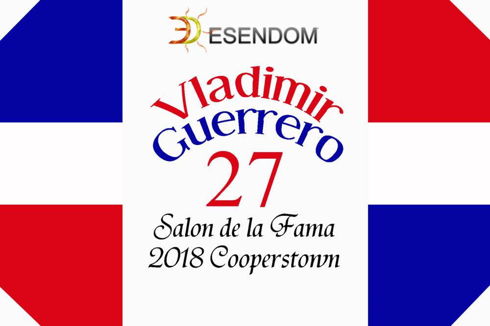 Vladimir Guerrero miembro del Salón de la Fama 2018