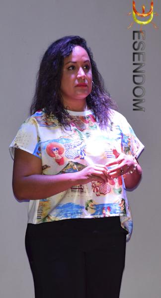 Maite Bonilla, actríz dominicana.