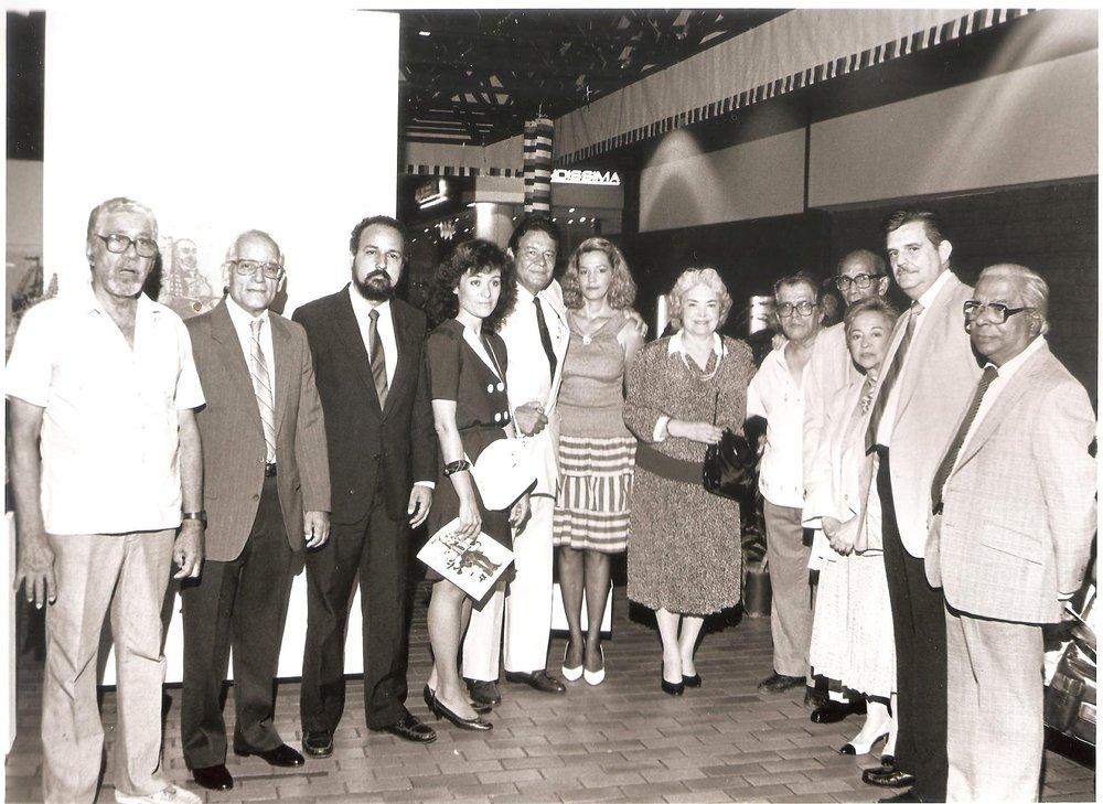 Puesta en circulación de   «En Barco de papel», Lolita Lebrón, Ruth Vasallo y un grupo de intelectuales puertorriqueños. San Juan, 29 de julio 1988. Puerto Rico.