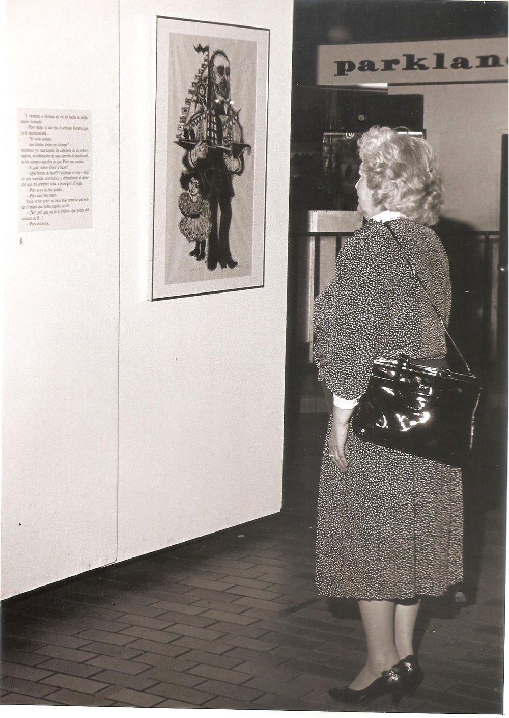 Lolita Lebron en «Barco de papel» - Puerto Rico 1988.