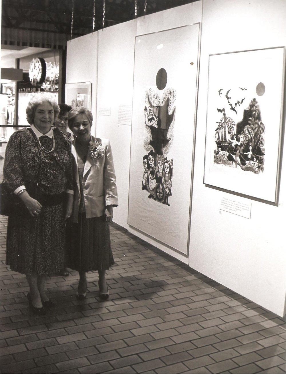 Lolita Lebrn y Ruth Vasallo- Puerto Rico 1988.