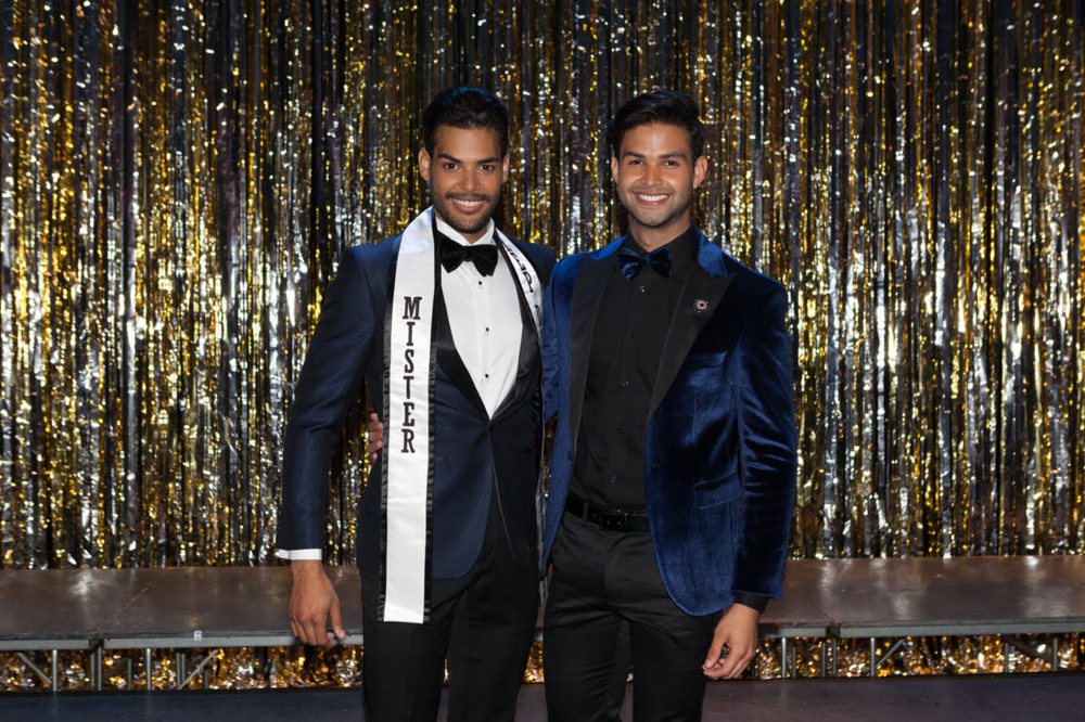 Mister República Dominicana US 2016 Alejandro Martínez & Rodney Tapia.