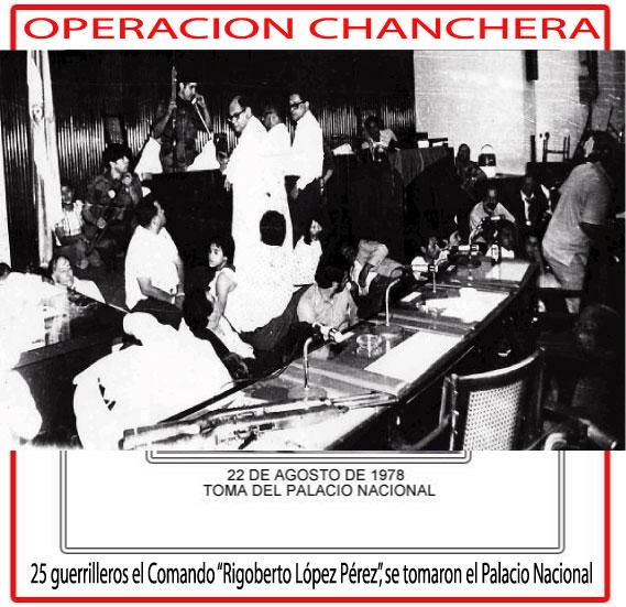 Nicaragua-22 de agosto 1978-operacion chanchera.