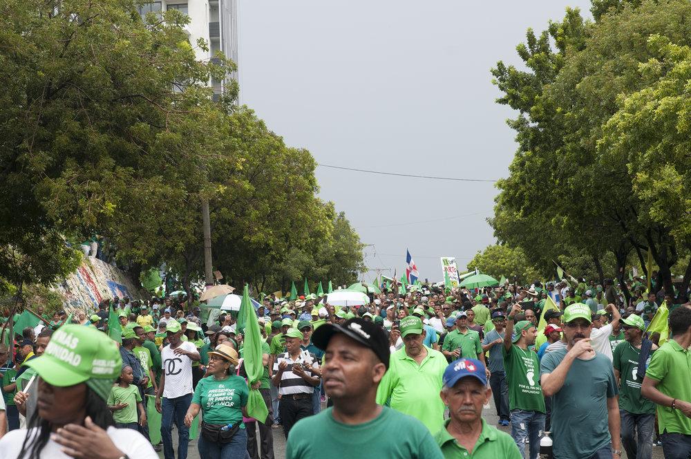 Marcha Verde protestors/Photo: Lorena Espinal Peña.