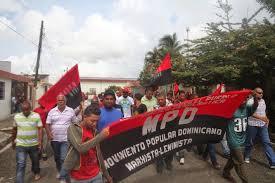 Acto en recordación de Viejo Pedro realizado en el municipio de Castillo en 2016. Foto: Movimiento Popular Dominicano (MPD).