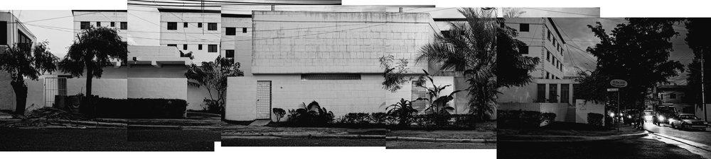 Fotomontaje Casa Batista. Imagen de proceso. Fuente: Arq. Daniel Infante.