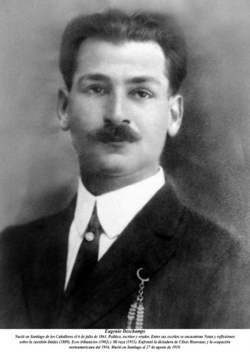 Eugenio Deschamps, abuelo de Josefina Padilla.