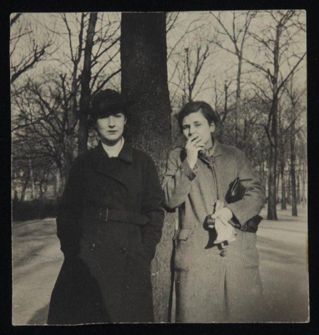 Victoria Kent y Louise Crane.