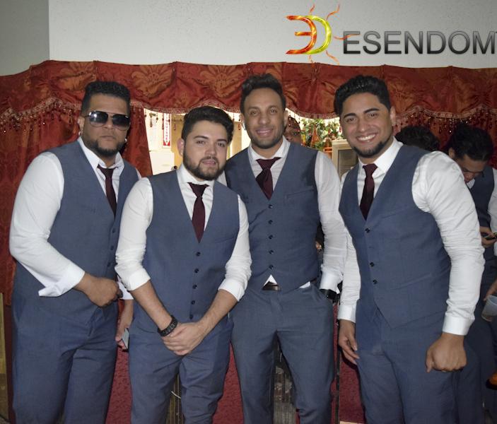 Júnior «El Güirú», Randy Collado, Aris Jackson y Bebé Tambora - son El Grupo D' Ahora