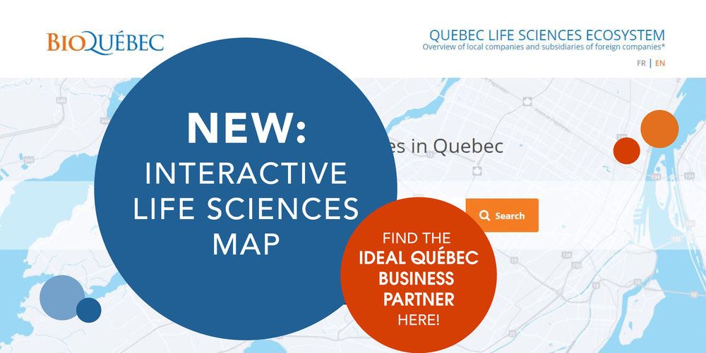 Discover the Quebec Life Science Network here!