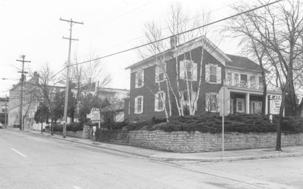 """THe Historic Corner house, once operated as the popular """"Corner house shops""""."""