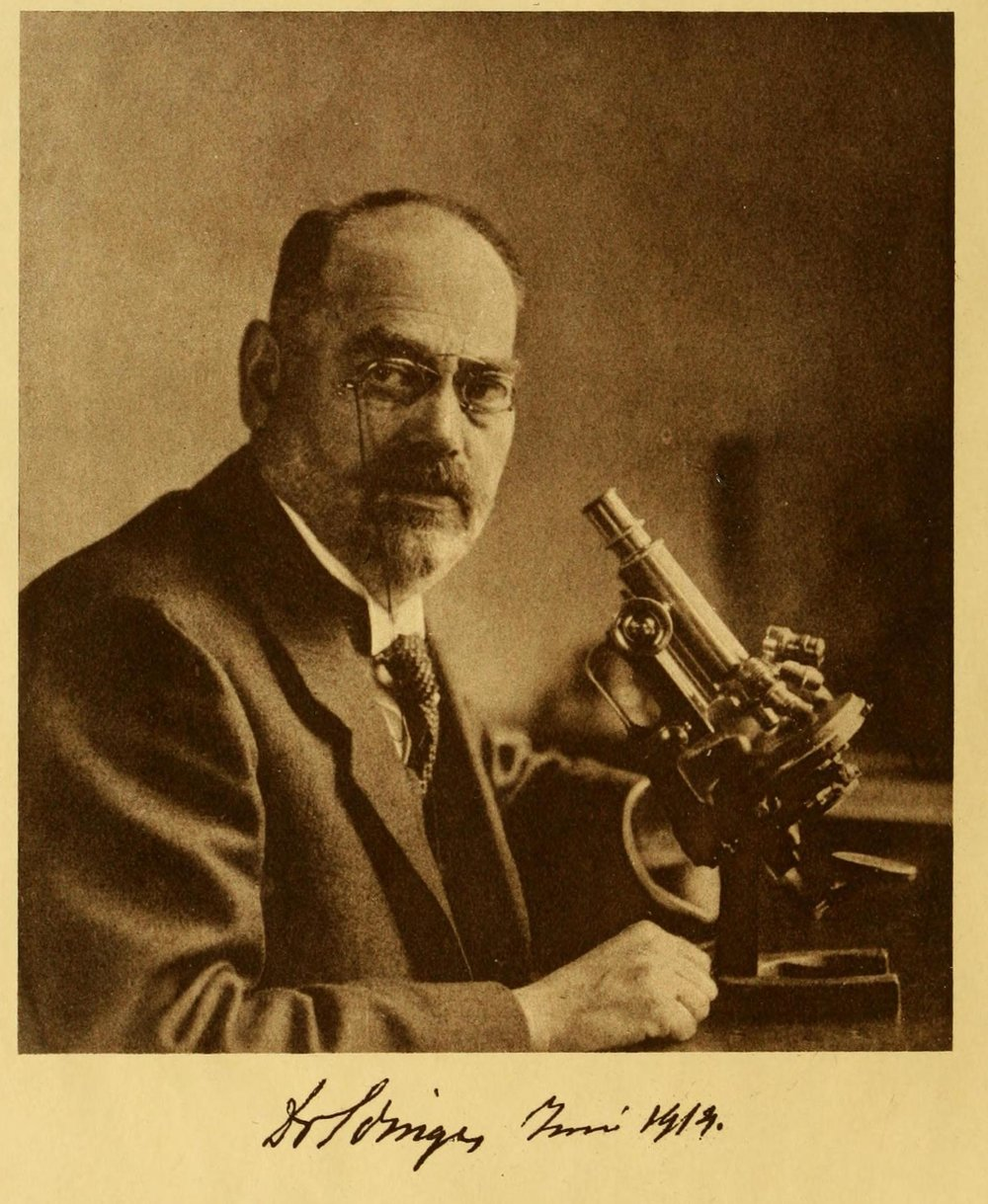 Tilly Edinger's father, neurologist Ludwig Edinger