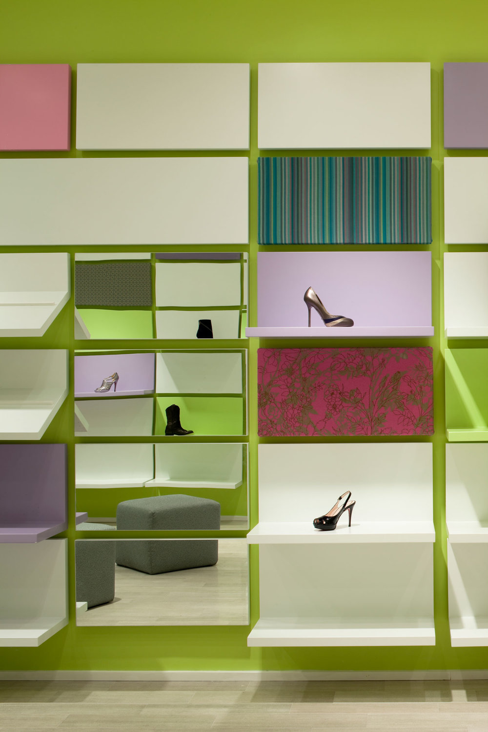 Shoebox Store Interior Design