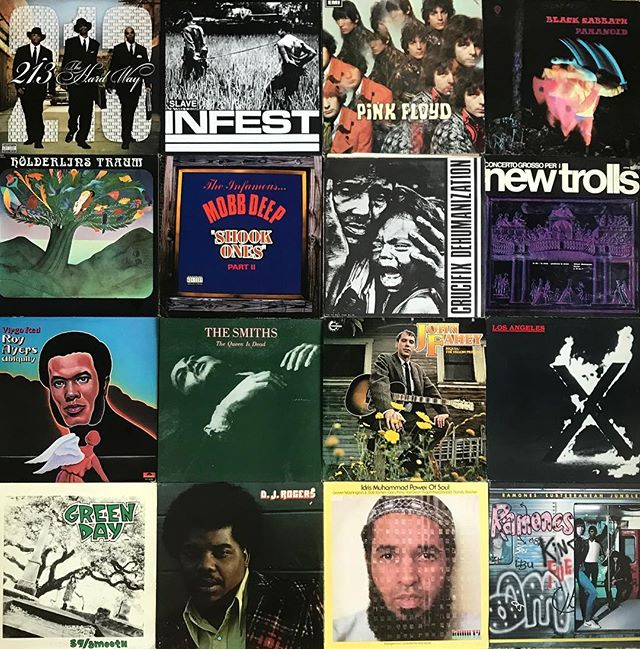 🎏SUNDAY🎏New Arrivals all going out in an hour or so. 🛴Skate over, were open until 7:00 today  #213 #infest #pinkfloyd #blacksabbath #hölderlinstraum #mobbdeep #crucifix #newtrolls #italianprog #royayers #thesmiths #morrissey #johnfahey #exenecervenka #greenday #djrogers #idrismuhammad #ramones #daybreakrecords #seattlerecordstores #newarrivals #vinyligclub