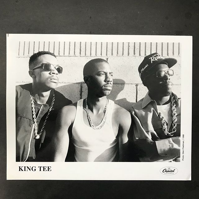 💎 🕶 King T press kit for 1988's Act a Fool. This will go out tomorrow in a really clean copy of The LP. #compton #kingT #kingtee #khakisandabiggoldrope #westcoastrap #larappers #capitolrecords