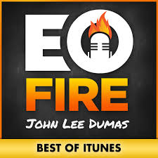 John Lee Dumas  interviews the biggest bigshots and asks them the best questioons, like what was their worst entrepreneural moments. Also a good one to follow on Snapchat.