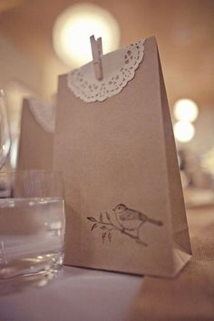 A Token Of Love, gift bags