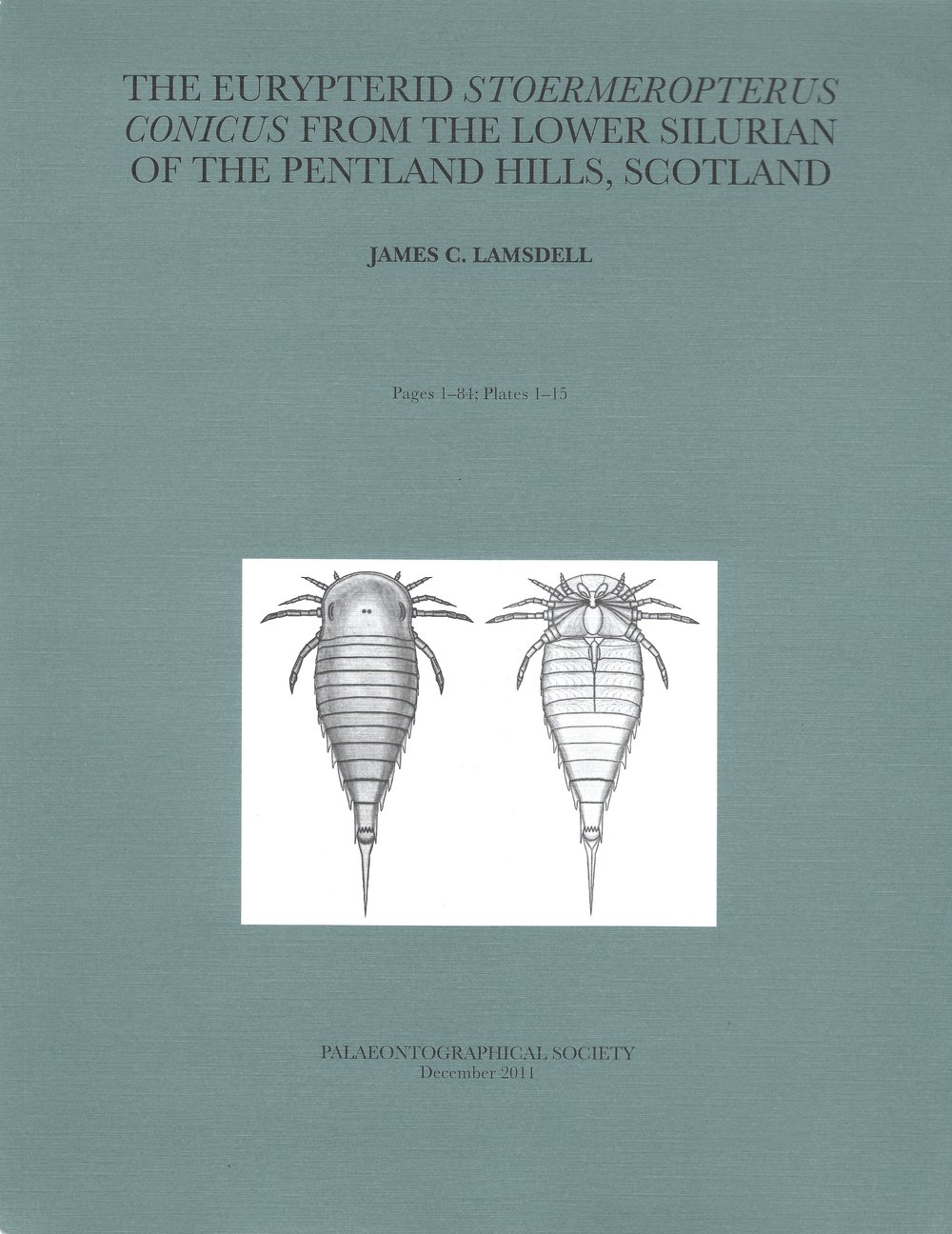 Cover of the Palaeontographical Society monograph on  Stoermeropterus