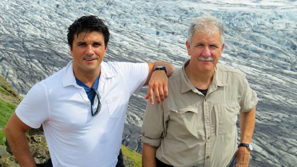 Joe & Paul on a Glacier in Iceland.jpg