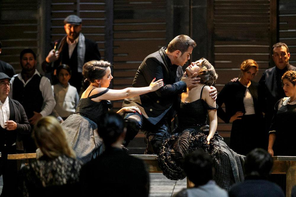 Mercedes in Carmen, Bizet, Opera de Tenerife