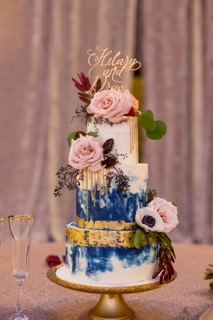 Marbled Buttercream Cake