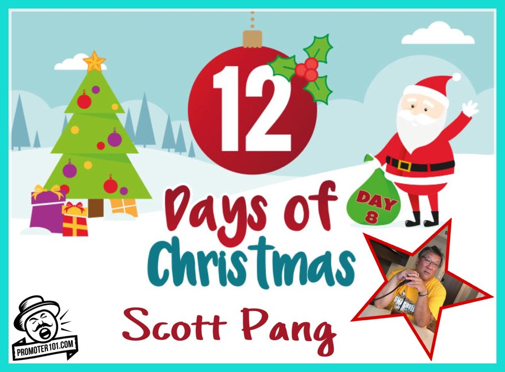 promoter 101s 12 days of christmas day 8 icm partners scott pang