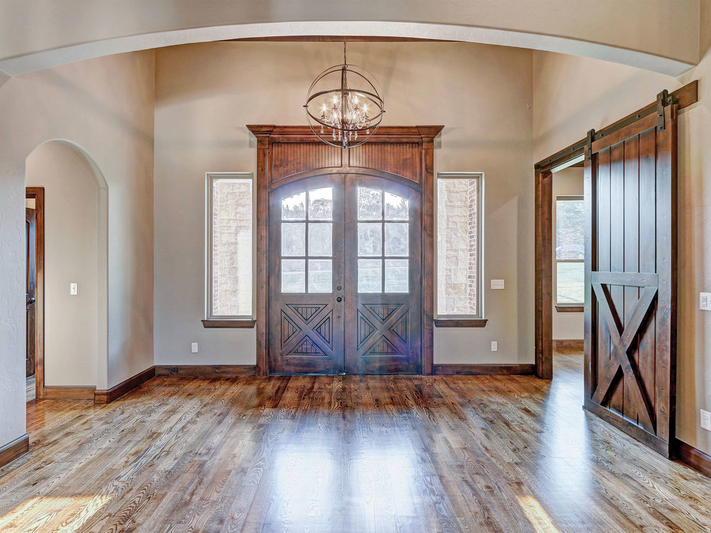 Double Front Entry Way