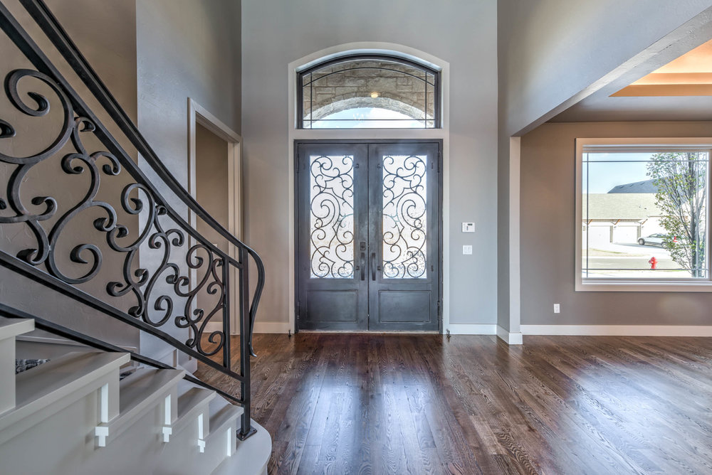 Front Stair Entry