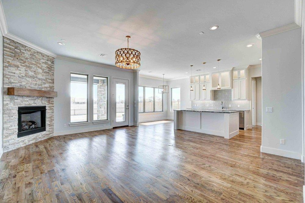 Light Living Room/Kitchen