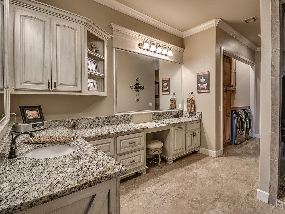 Master Bathroom/Laundry Room