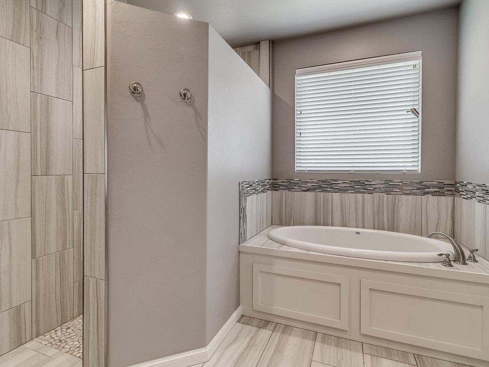 Shower and Bath Tub