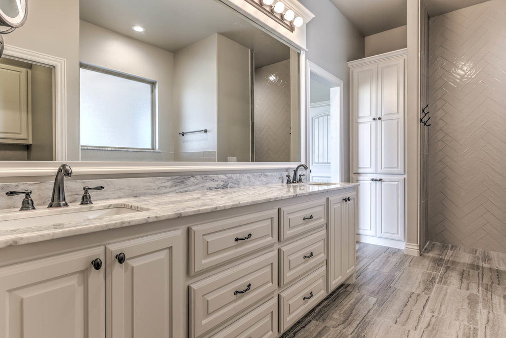 His and Hers Sinks Master Bath