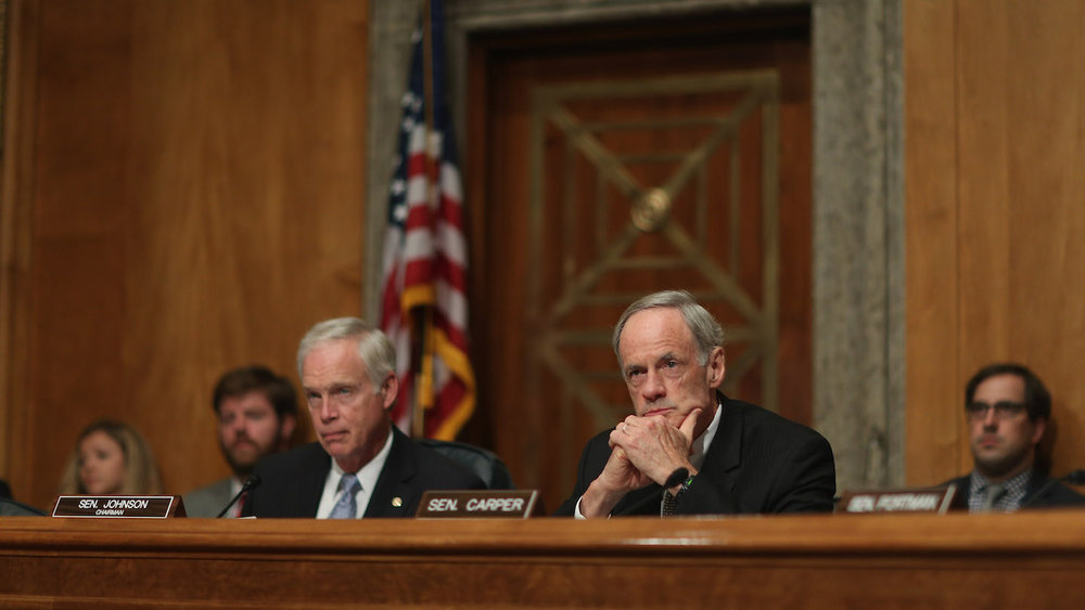 SLUDGE: Vowing to Fight Epidemic, Delaware Senator Takes