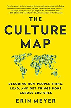 Picture of the Culture Map book. A recommendation for gap year students and educators.