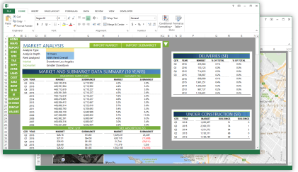 Appraisal software in Microsoft Office Excel and Word