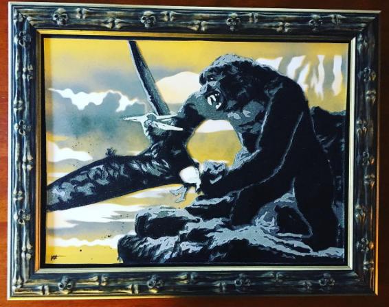 "King Kong '33 18""x24"" February 2017"
