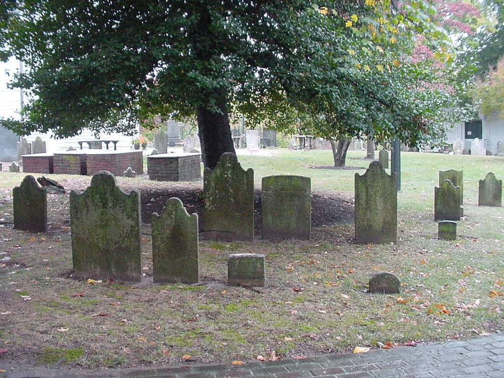 graveyard cemetery historic st john s church 1741
