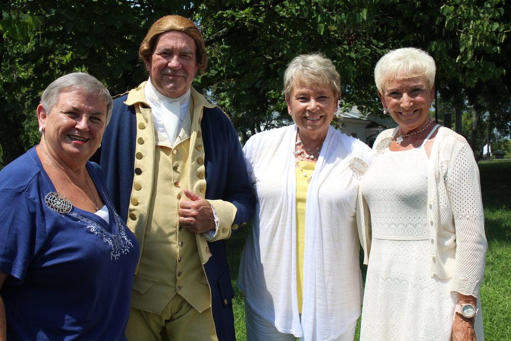Three sisters and George Washington!