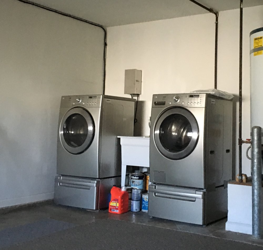 Free Laundry machines