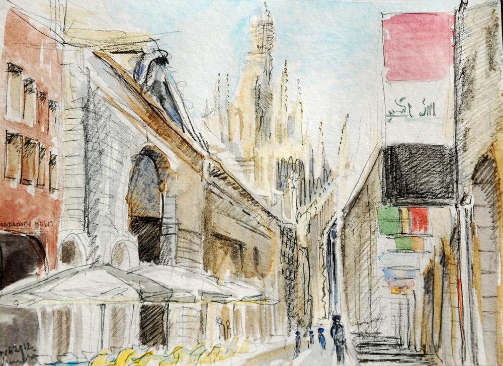 Vittorio Emanuele II, Milano