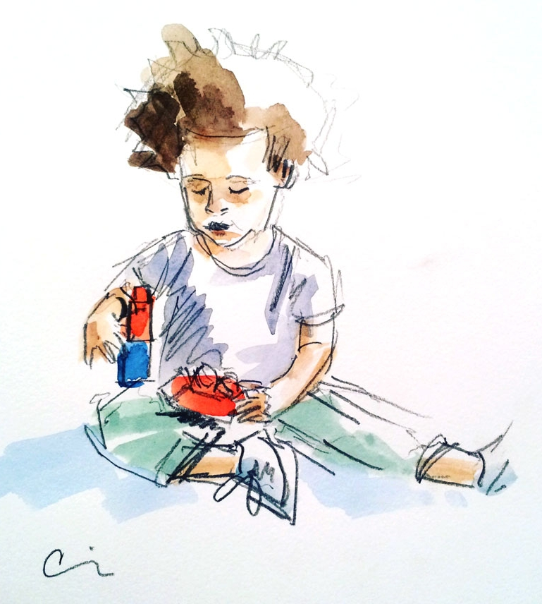 Toddler Sketch