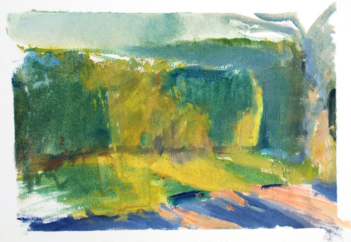 Evening Hedge Study